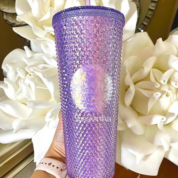 ‼️LAST ONE💜Starbucks China purple glitter studded